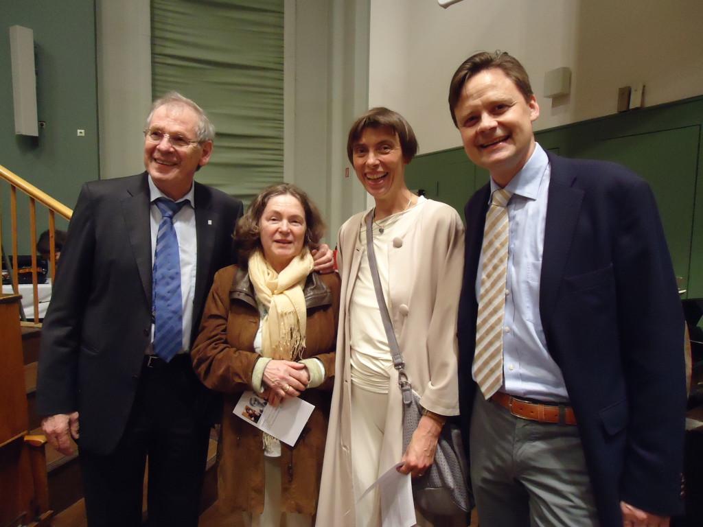 EAN President Professor Deuschl and host Professor Endres with their spouses.