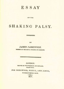 president s page years since james parkinson s first  it is unknown which of his many books james parkinson 1755 1825 has considered the most important one his 500 pages medical admonitions for lay people