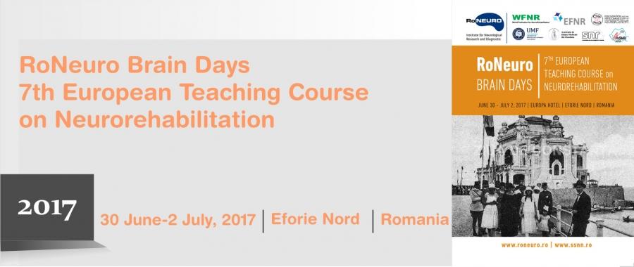 7th European Teaching Course on Neurorehabilitation | eanpages