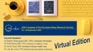 25th Congress of the European Sleep Research Society (ESRS) @ Virtual