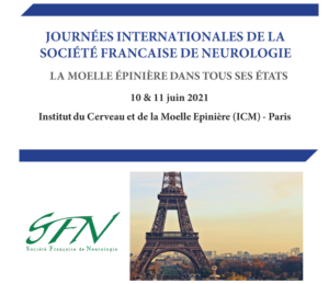 """French Society of Neurology International Days """"The spinal cord in all its states"""" @ ICM, Paris, France"""