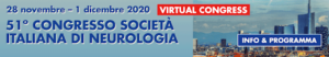 51st Italian Society of Neurology Annual Congress 2020 (SIN 2020) - Rescheduled @ Virtual