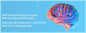 56th Turkish National Neurology Congress @ Virtual