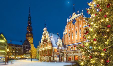 Latvia claims to be the home of the first Christmas tree. The first recorded use of an evergreen tree at Christmas and New Year's celebrations is in the town square of Riga in 1510.